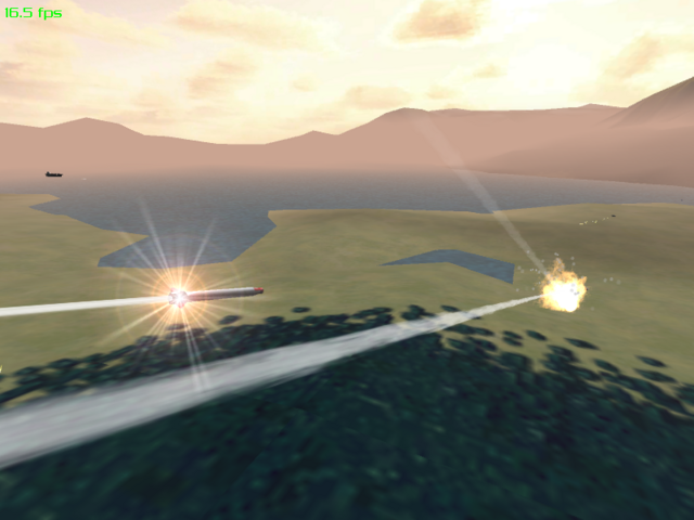 Missiles produce lens flares now, yeah!