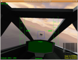 Stick, rudder, throttle and brake position can be monitored on the new controls display in the bottom right corner