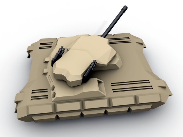 Preview of a new tank. It will replace the current model in one of the next releases. Not textured yet.
